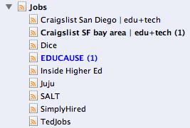 RSS Job Search